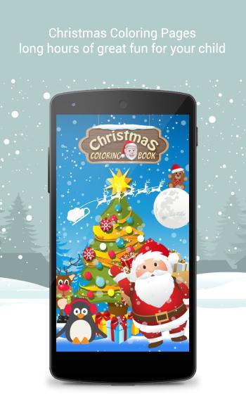 Christmas Coloring Book screenshot