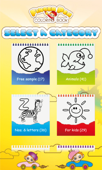 Kids Coloring Book free game