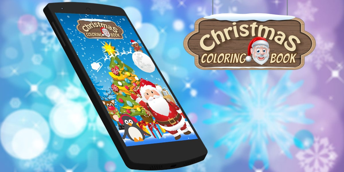Coloring Book Christmas Android App