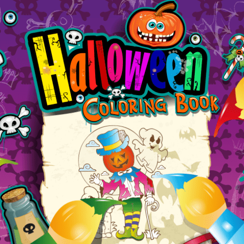 Kolorowanka Halloween dla dzieci