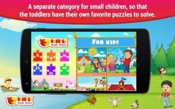 Puzzle dla dzieci Android