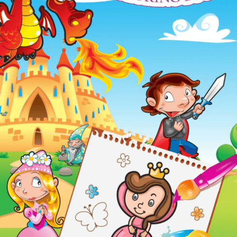 Coloring Book princess app