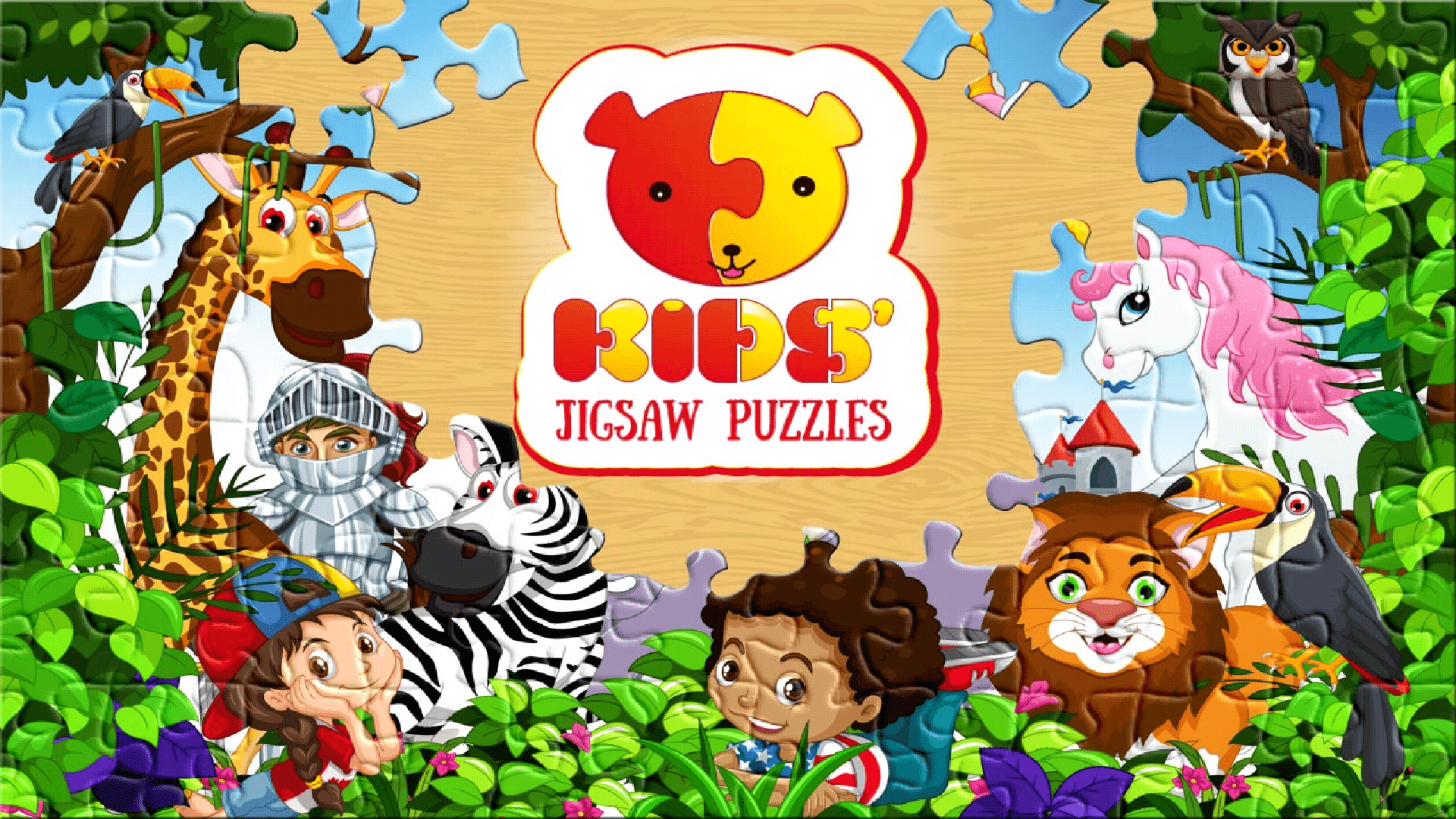 Puzzle for kids Google Play