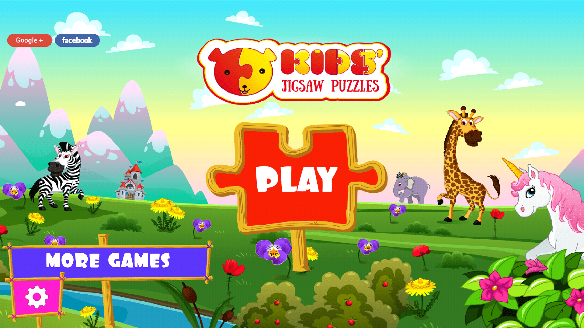 Puzzle for kids Android app