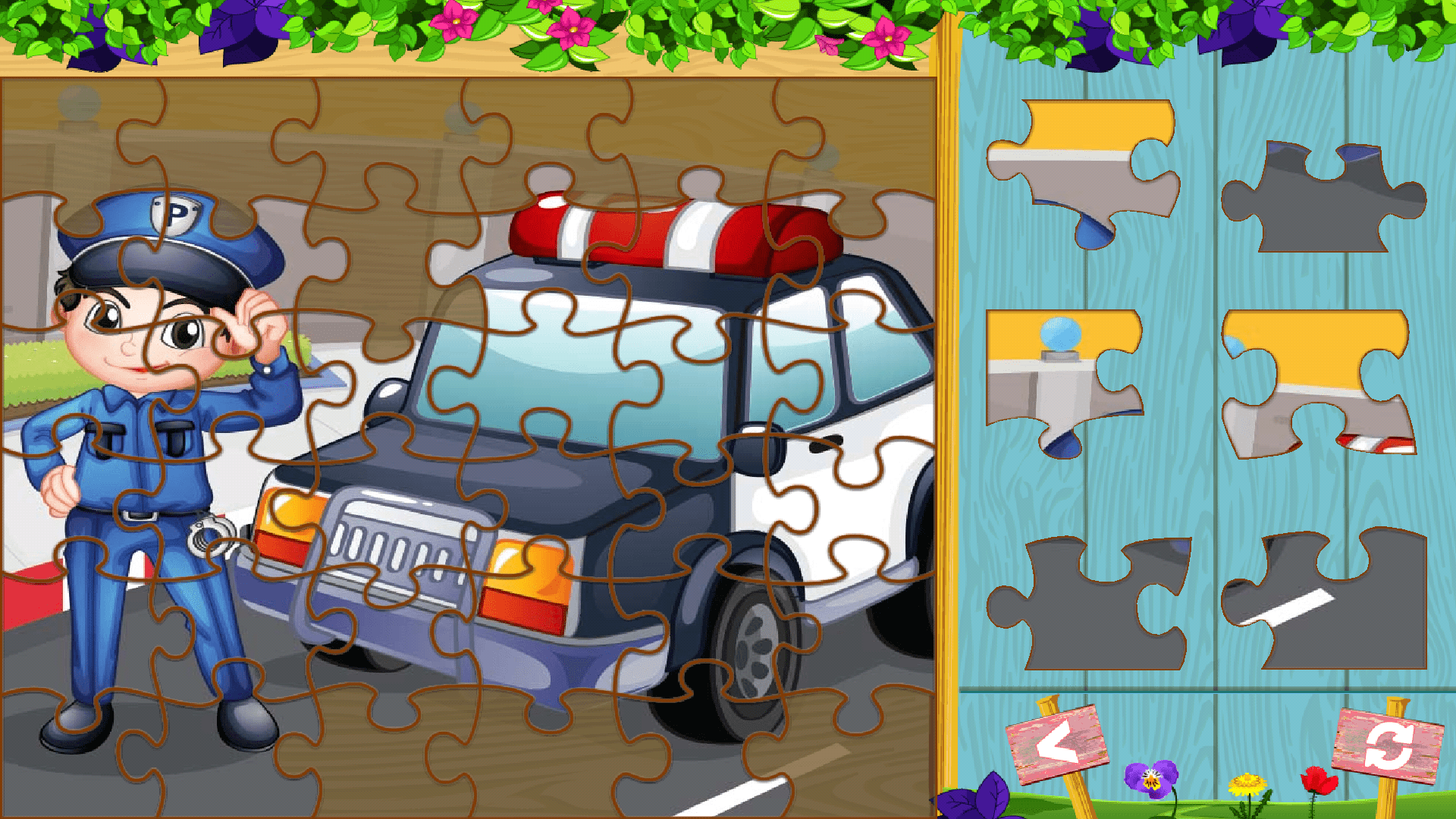 Puzzles for boys Android App