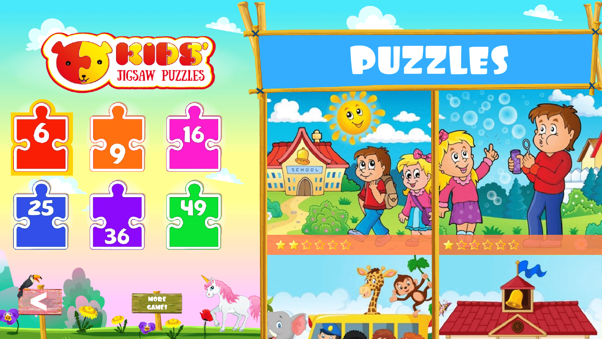Toddlers Puzzles Android
