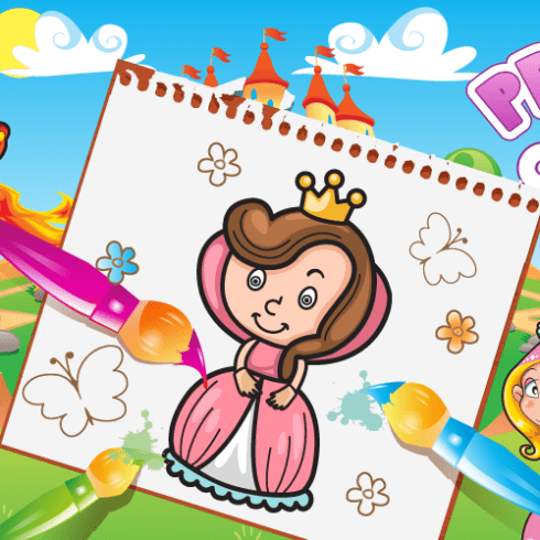 Princess Coloring Book Android app