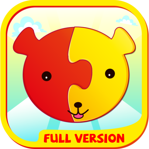Puzzles for kids, Android app