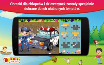 Darmowe puzzle dzieci Android