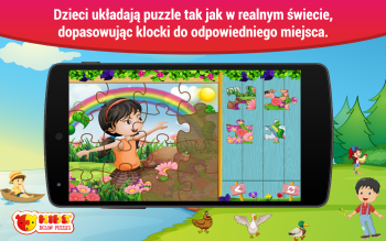 Dzieci Puzzle Android