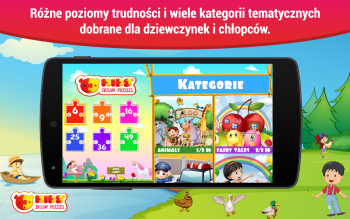 Puzzle dzieci Android