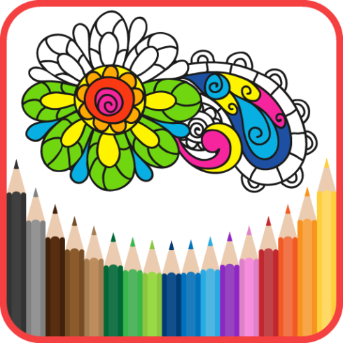 Coloring Book for Adults iPhone